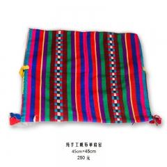 手工编制西藏风格帆布单肩包