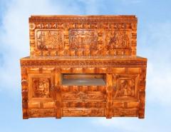 西藏藏式风格实木组合柜五件套特价包邮