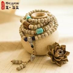 西藏「夏洛克」原创【藏韵】108颗星月菩提佛珠
