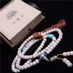 西藏「夏洛克」原创【孑然】108颗星月菩提子