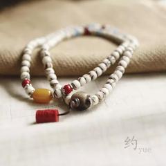 西藏「夏洛克」【约】108颗金丝菩提