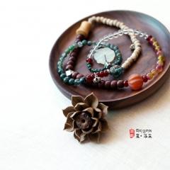西藏夏洛克原创「初心」多宝 108颗佛珠F48