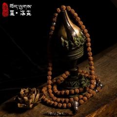 西藏「夏洛克」原创【梵语】108颗金刚菩提佛珠