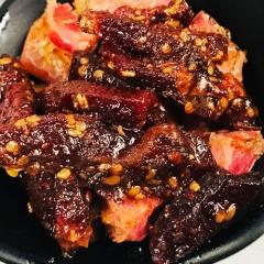 西藏特产 安多牦牛肉条麻辣味手工原生态优质牦牛肉干 150g 麻辣味