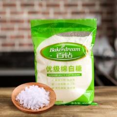 百钻优级绵白糖 食用白糖 超细绵砂糖优质棉糖 烘焙原料