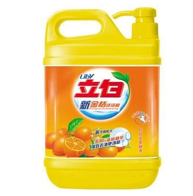 立白洗洁精/洗碗剂/洗涤灵清新柠檬不伤手 去油