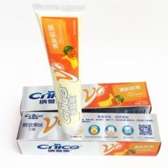 新纳爱斯牙膏鲜浓果味牙膏口气清新添加维C营养成份口腔护理
