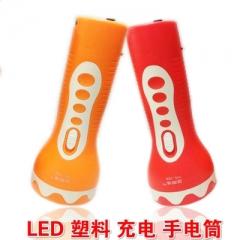 LED家用充电手电筒 户外露营探洞旅游钓鱼打猎工地工厂手电