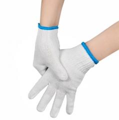 加厚纯棉纱手套  劳动干活工地工作棉手套 线手套