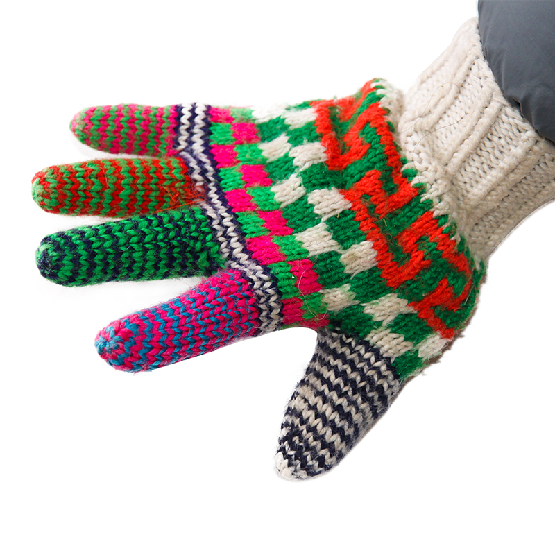 纯羊毛手套