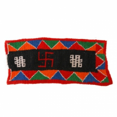 地方特色【措勤频道】藏风/纯羊毛藏式卡垫中号*小号