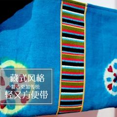 新手提包藏式藏族民族风西藏氆氇包新手提包