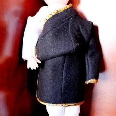 西藏林芝男女儿童服装藏衣氆氇 一件 娃娃服装