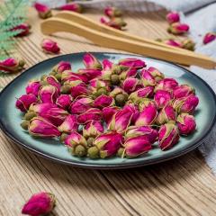 西藏干玫瑰花茶透明大袋泡水喝的平阴无硫玫瑰花冠茶 一斤 玫瑰花茶