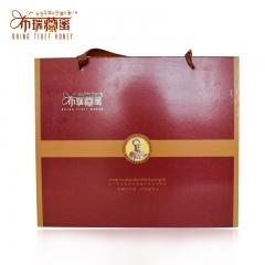 西藏  舌尖上的中国 纯天然  无添加  布瑞藏蜜红色礼盒套装 红色2条/盒 天然原味