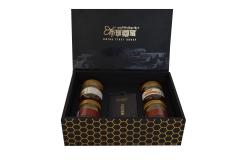 西藏 舌尖上的中国  纯天然  无添加  布瑞藏蜜 养颜黑色套装 黑色4瓶/盒 天然原味